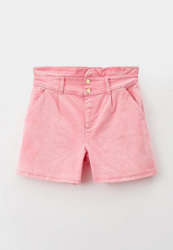 шорты liu jo junior для девочки, розовые