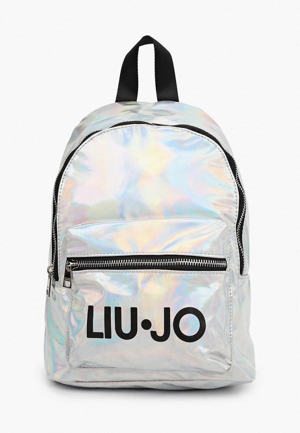 рюкзак liu jo для девочки, серебряный