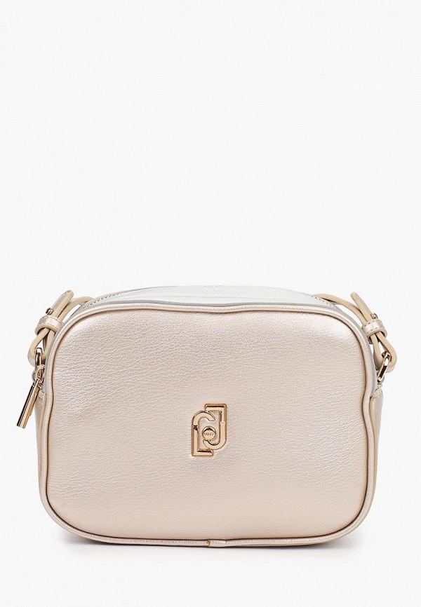 сумка liu jo для девочки, бежевая