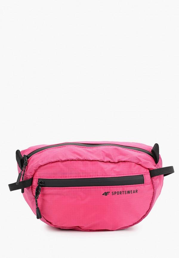 женская сумка 4f, розовая