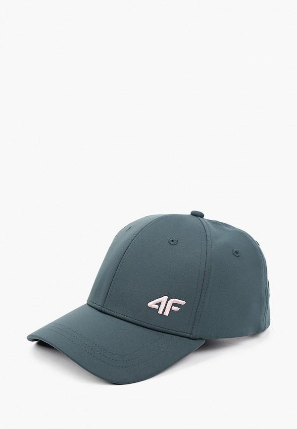 женская бейсболка 4f, зеленая