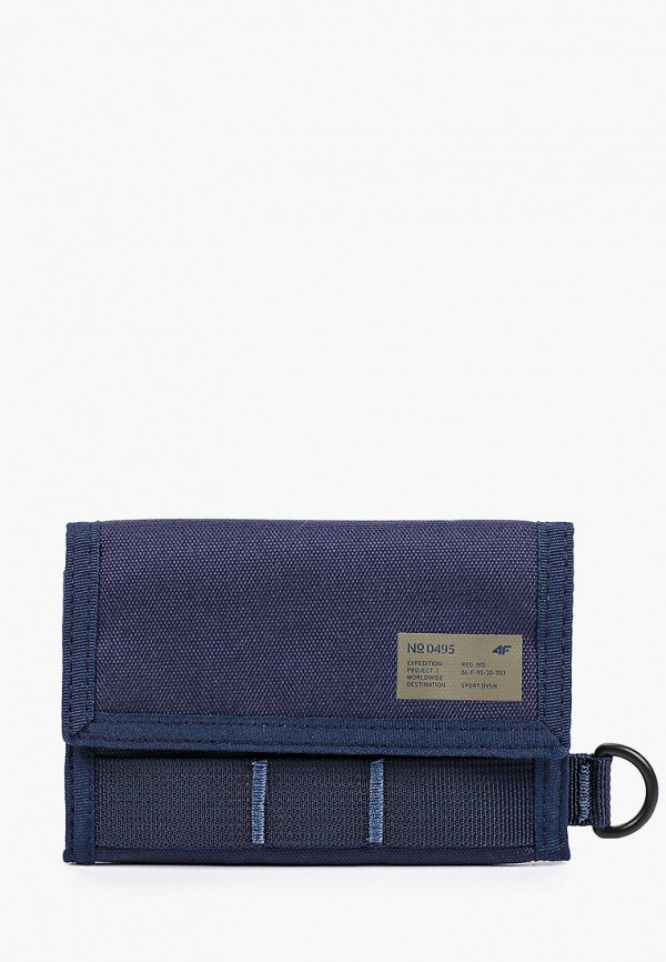 женский кошелёк 4f, синий