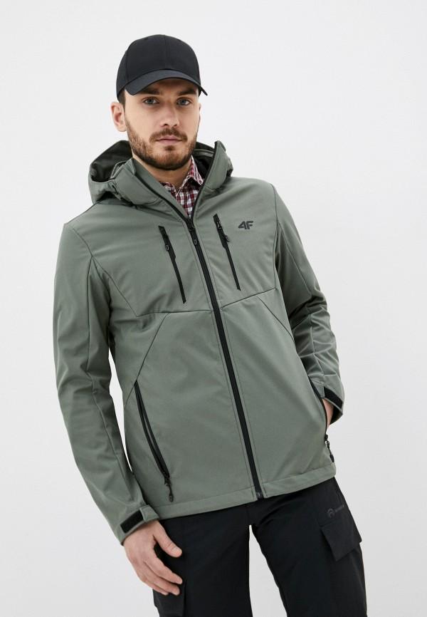 мужская куртка 4f, зеленая