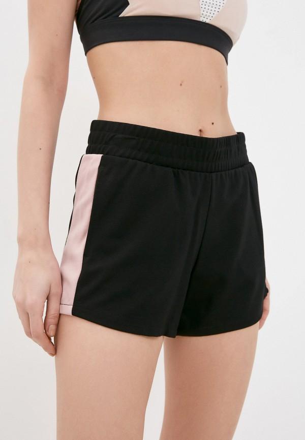 женские спортивные шорты 4f, черные