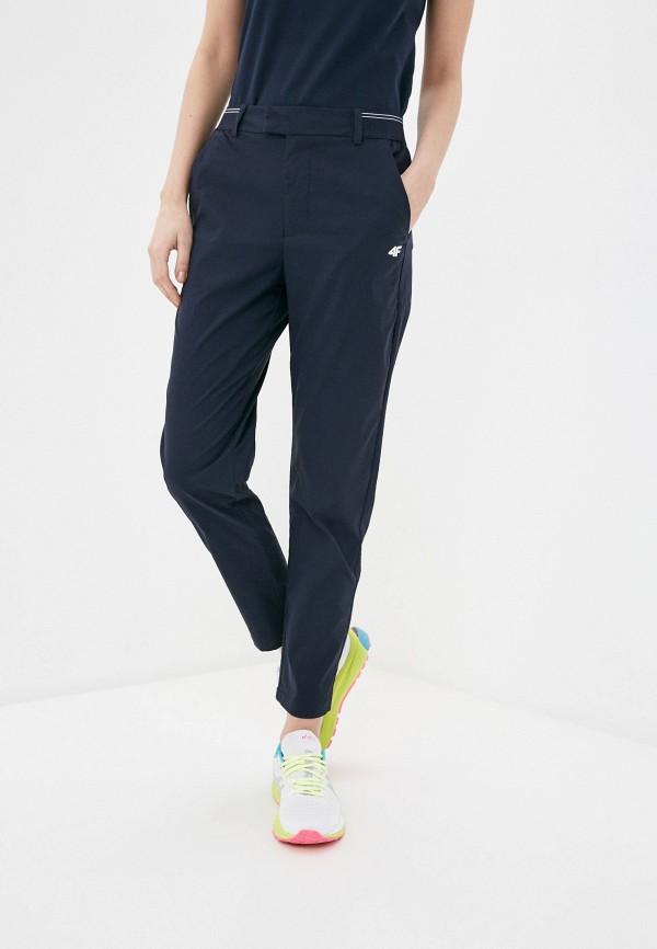 женские брюки 4f, синие