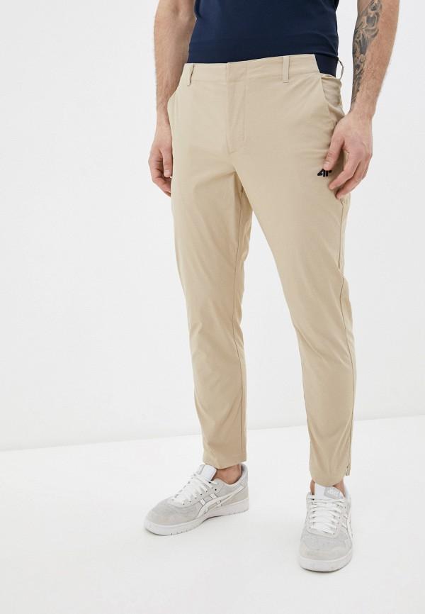 мужские спортивные брюки 4f, бежевые