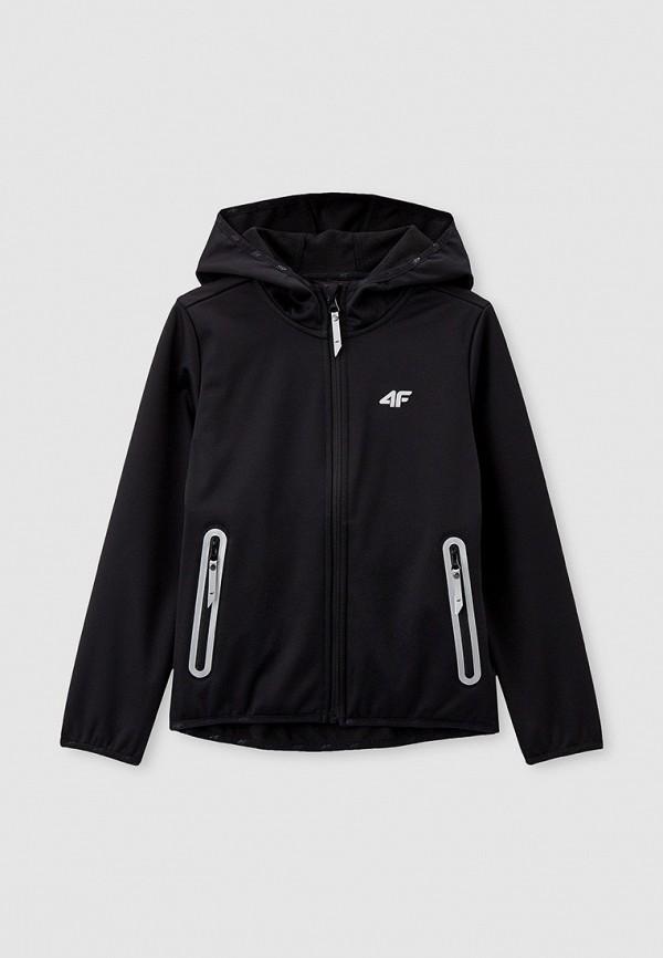 куртка 4f для мальчика, черная