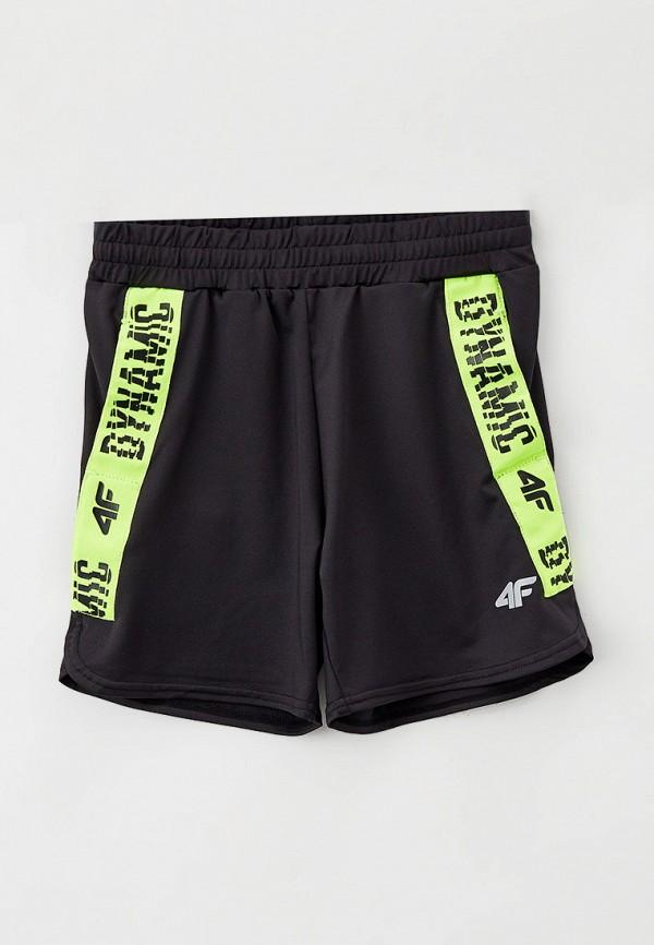 спортивные шорты 4f для мальчика, черные
