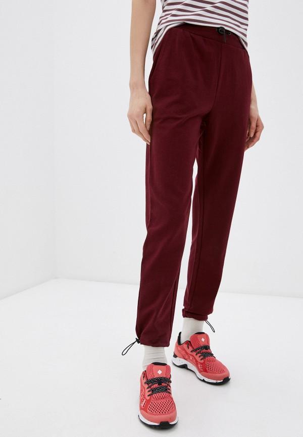 женские спортивные брюки outhorn, бордовые