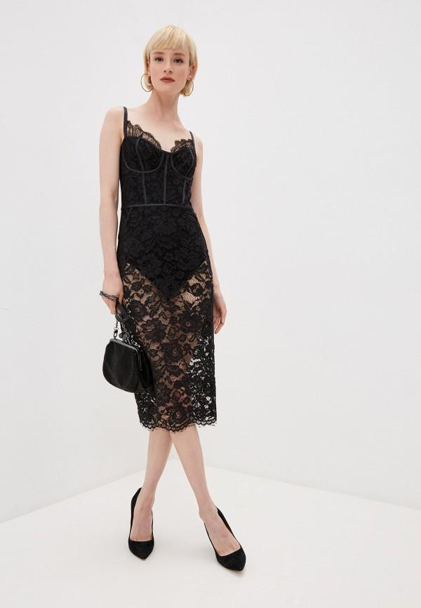 женское вечерние платье elisabetta franchi, черное