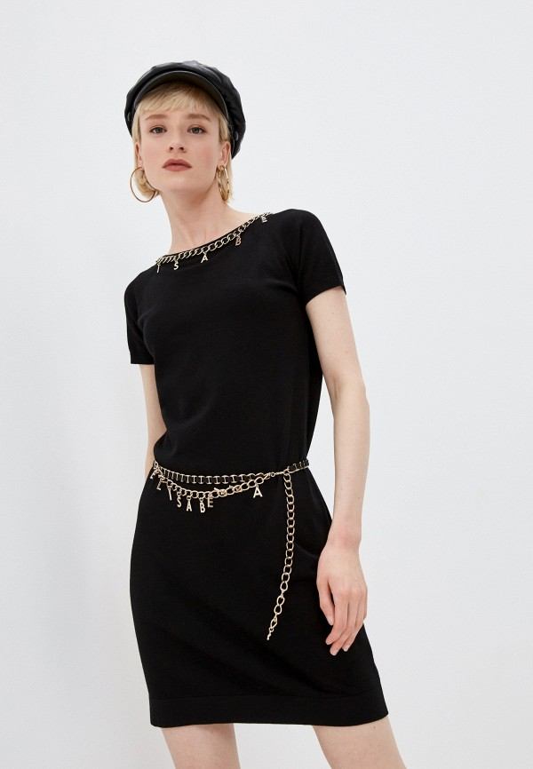 женское платье elisabetta franchi, черное
