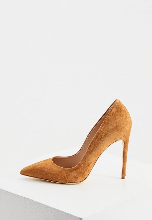 женские туфли elisabetta franchi, коричневые