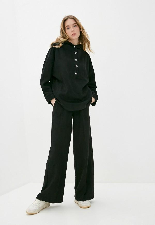женский костюм moda sincera, черный