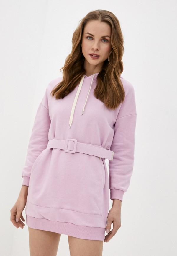 женское платье rinascimento, фиолетовое