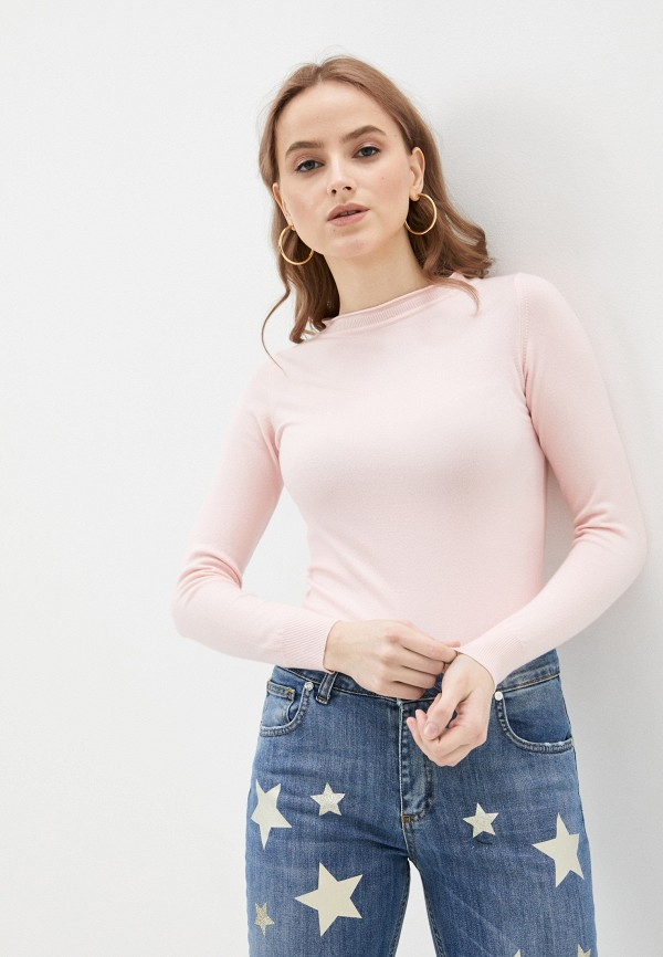 женский джемпер rinascimento, розовый