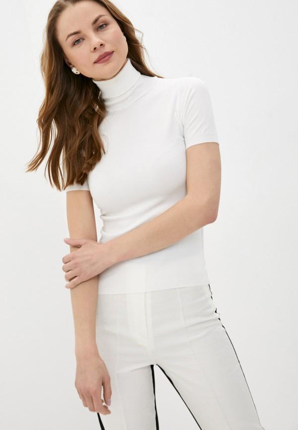 женская водолазка rinascimento, белая