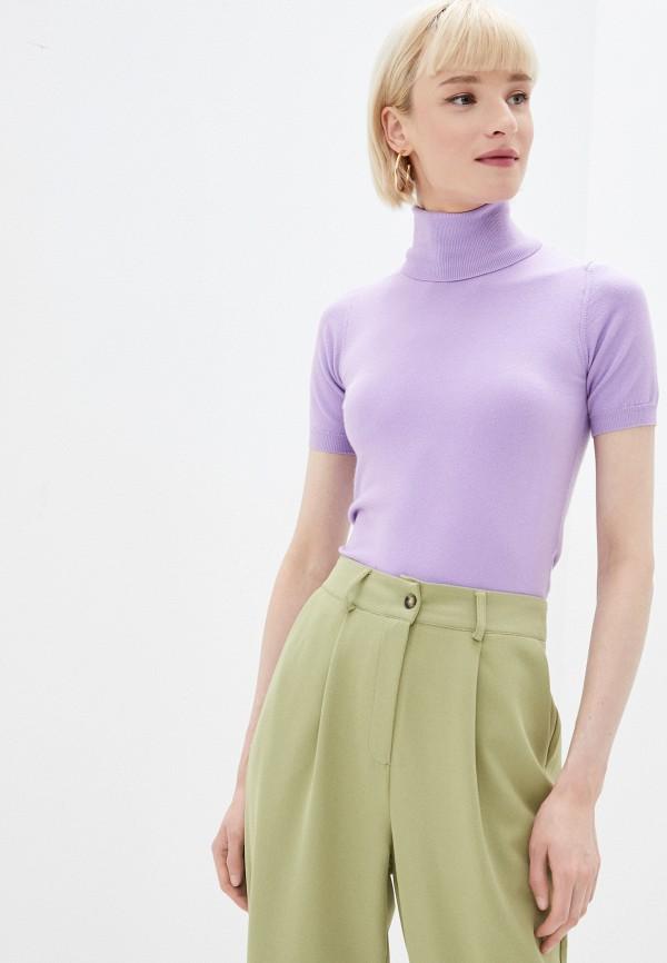 женская водолазка rinascimento, фиолетовая