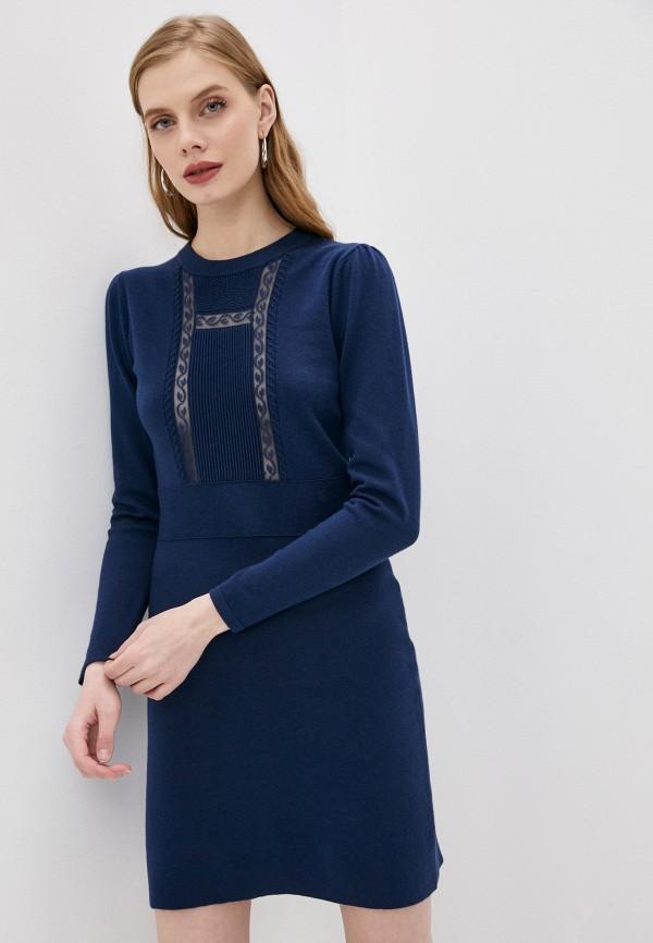 женское платье-свитеры see by chloe, синее