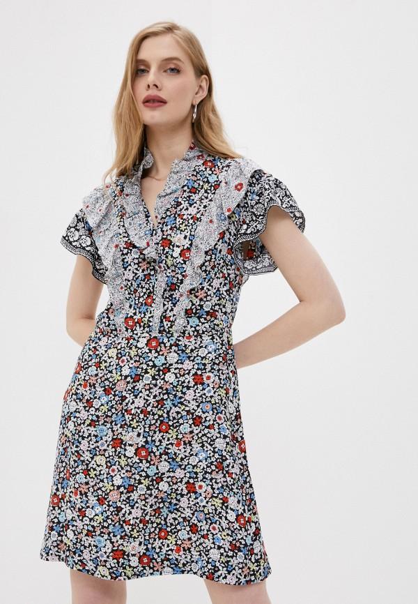 женское повседневные платье see by chloe, разноцветное