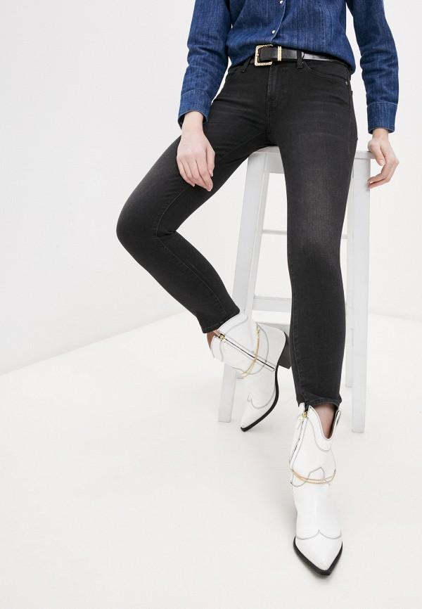 женские джинсы 7 for all mankind, черные