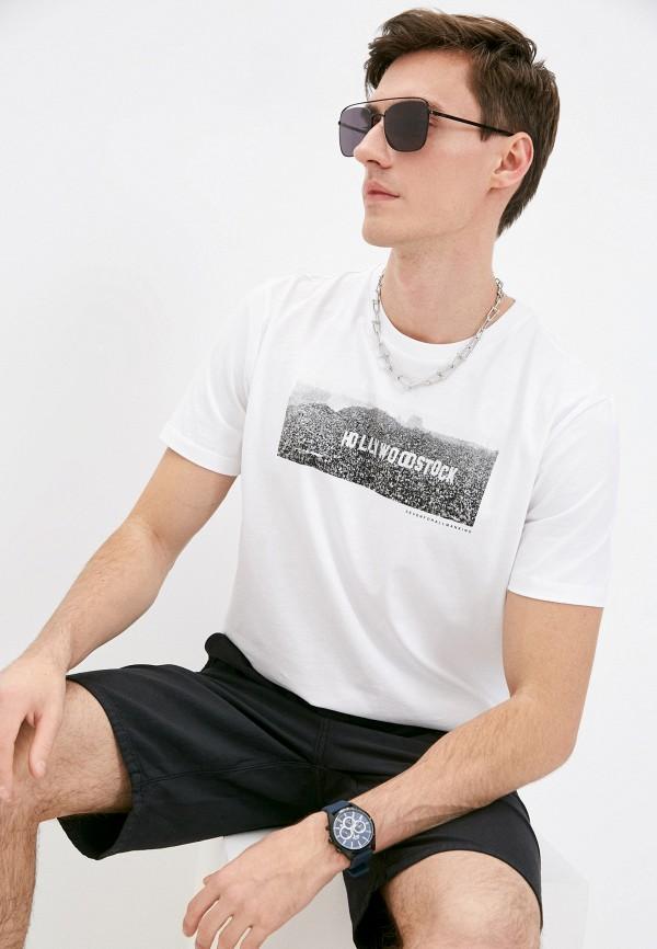 мужская футболка 7 for all mankind, белая