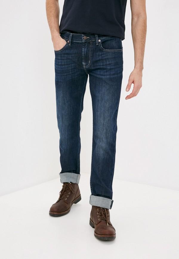 мужские прямые джинсы 7 for all mankind, синие