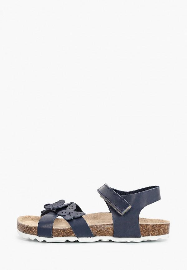 сандалии barritos для девочки, синие