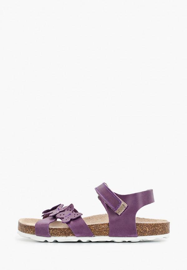 сандалии barritos для девочки, фиолетовые