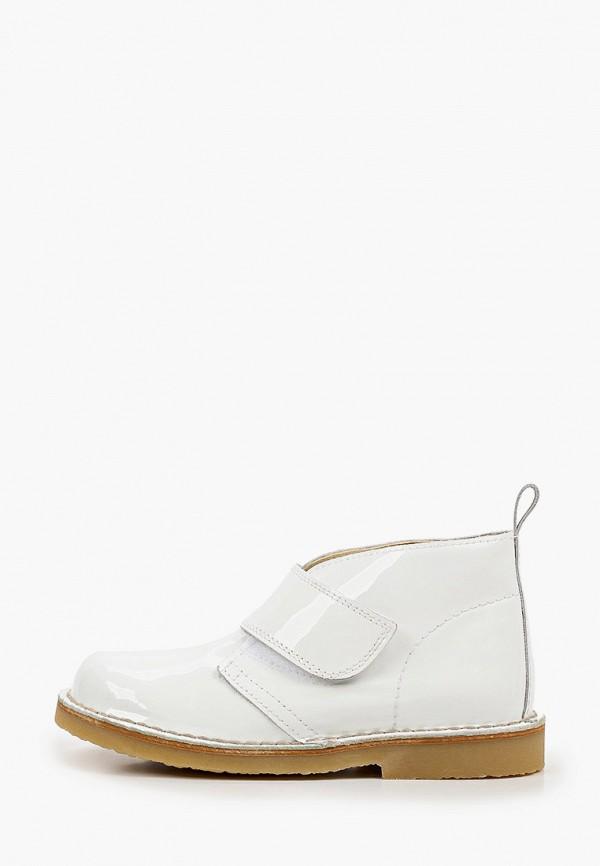 ботинки barritos для девочки, белые
