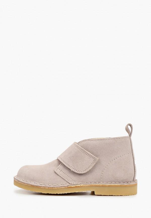 ботинки barritos для девочки, бежевые