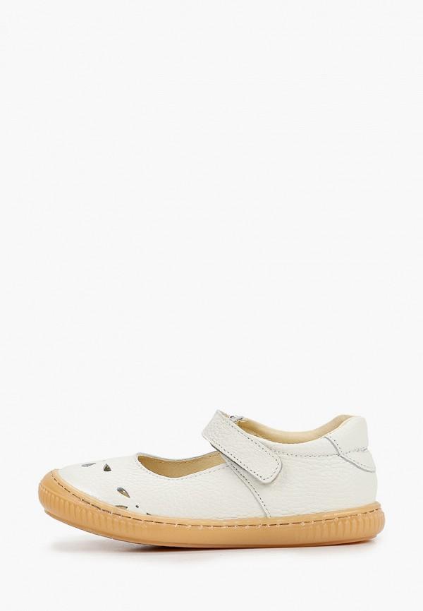 туфли barritos для девочки, белые