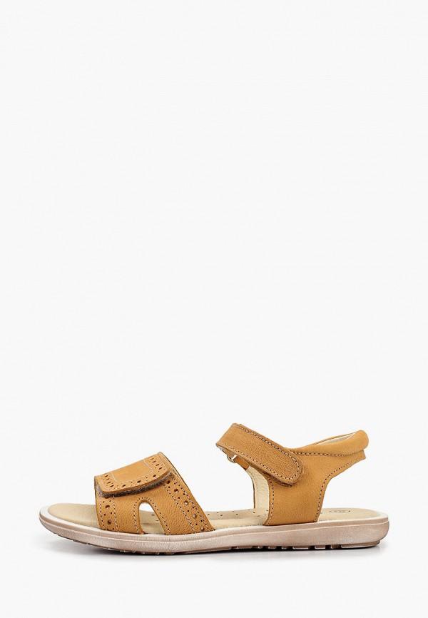 сандалии barritos для девочки, бежевые