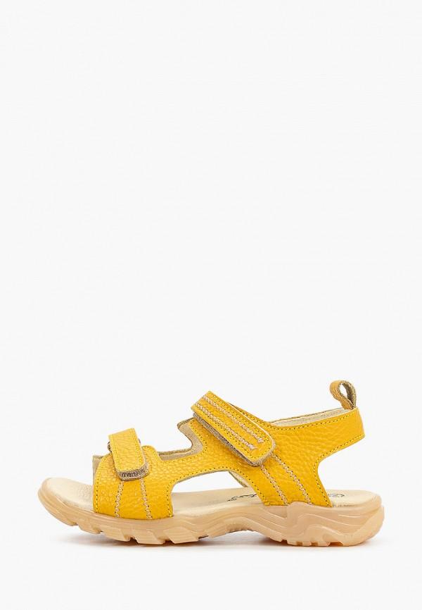 сандалии barritos для мальчика, желтые