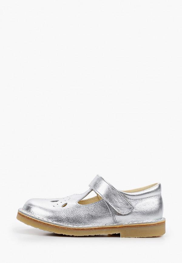 туфли barritos для девочки, серебряные