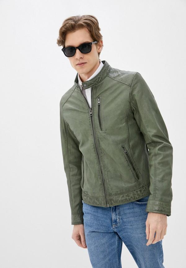 мужская куртка oakwood, зеленая