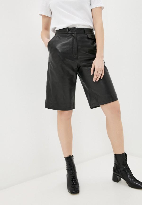 женские повседневные шорты oakwood, черные