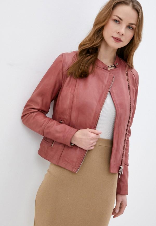 женская куртка oakwood, розовая