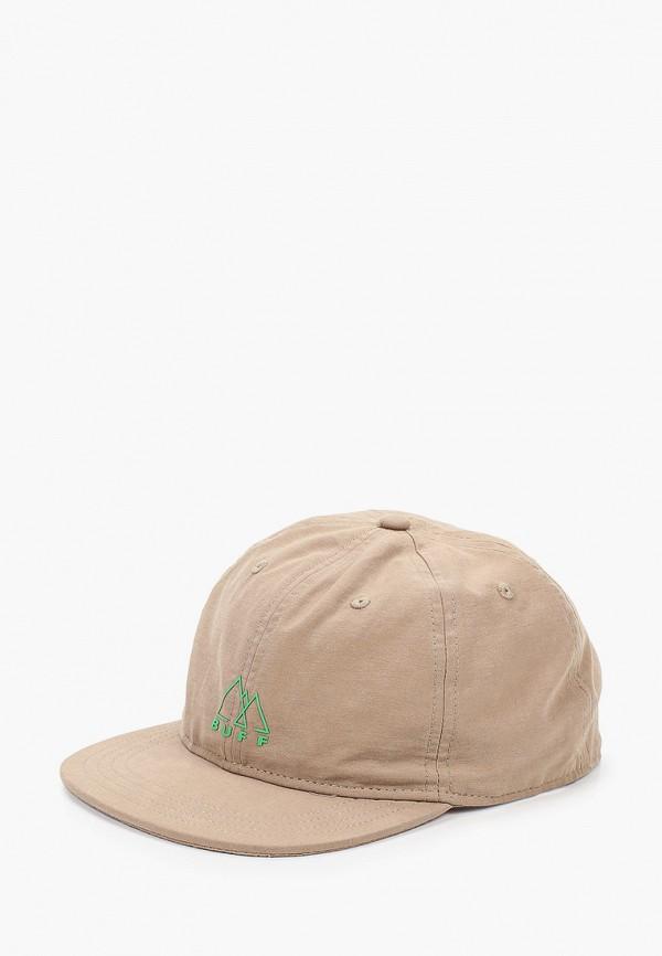 женская кепка buff, бежевая