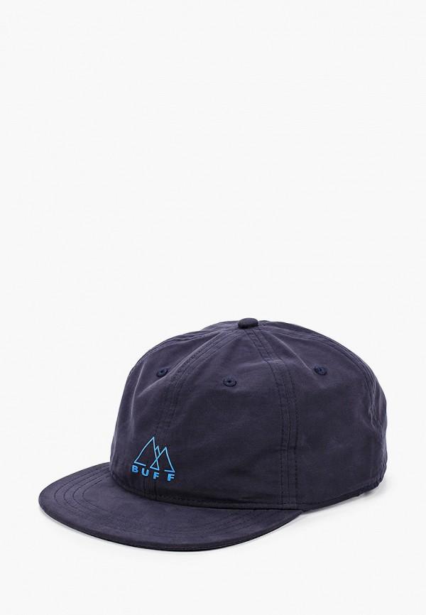 женская кепка buff, синяя