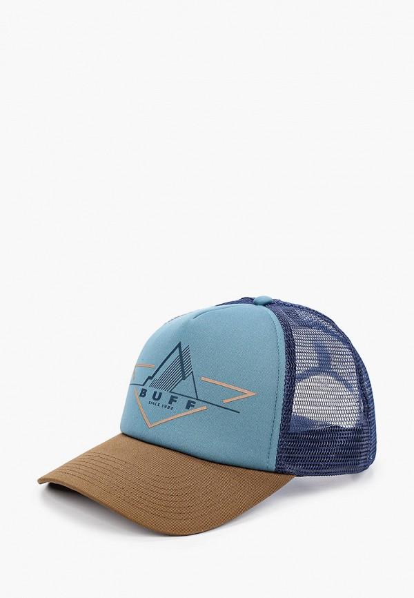 женская бейсболка buff, синяя