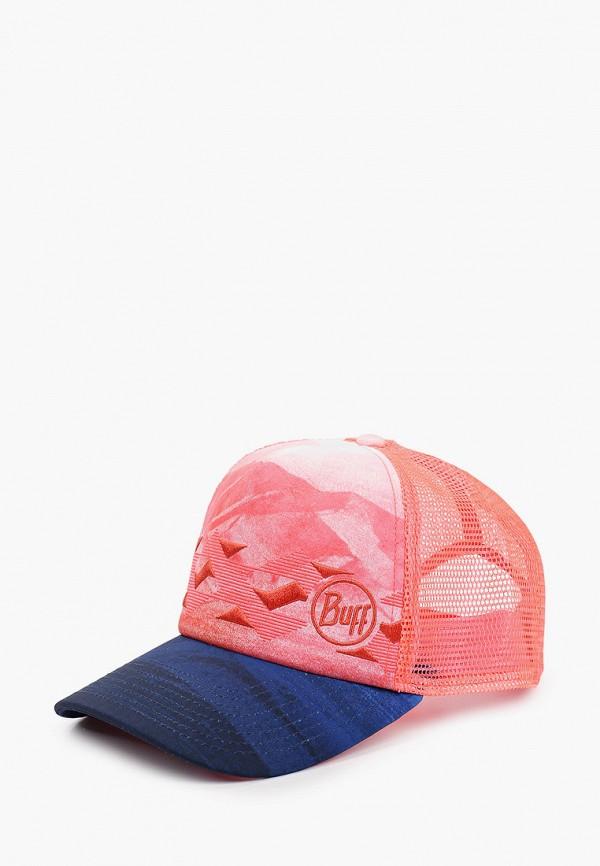 женская бейсболка buff, розовая