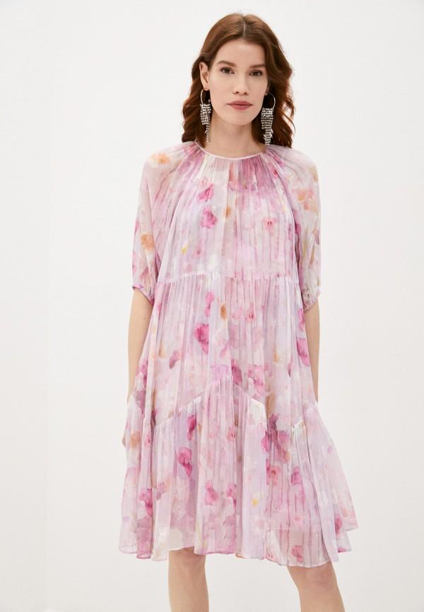женское повседневные платье the kooples, розовое