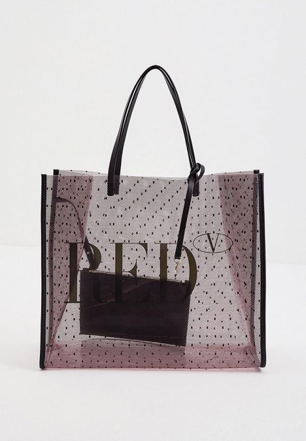 женский кошелёк-шоперы red(v), розовый