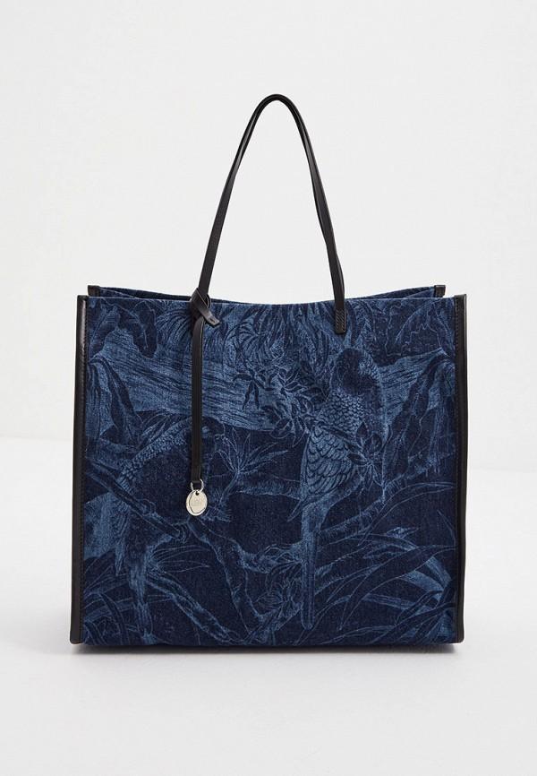 женская сумка-шоперы red(v), синяя