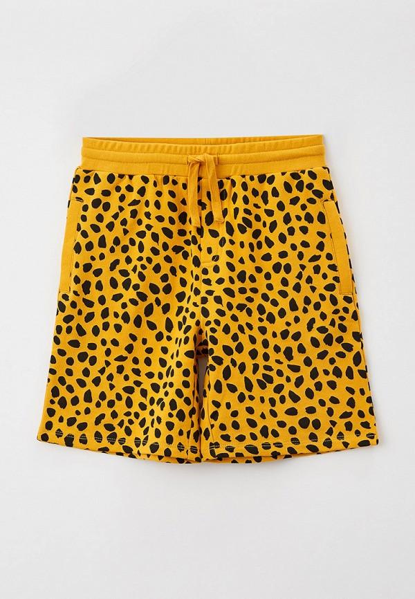 Шорты Stella McCartney Kids желтого цвета