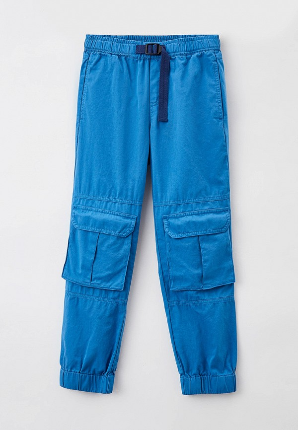 брюки stella mccartney для мальчика, синие