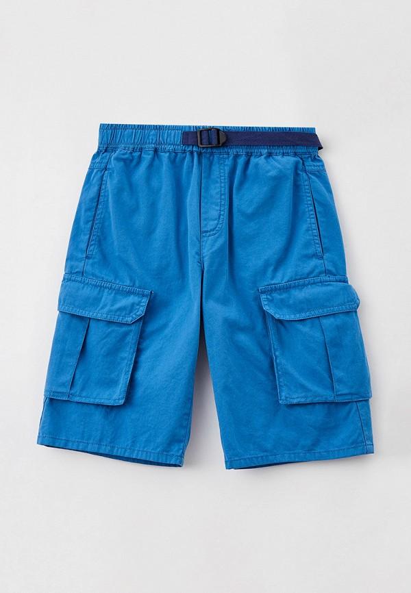 шорты stella mccartney для мальчика, синие