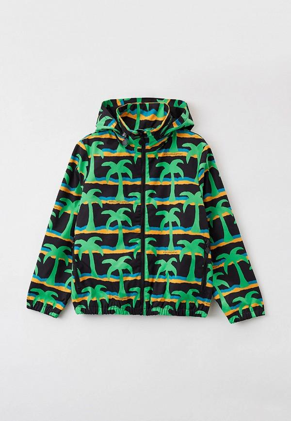 легкие куртка stella mccartney для мальчика, разноцветная