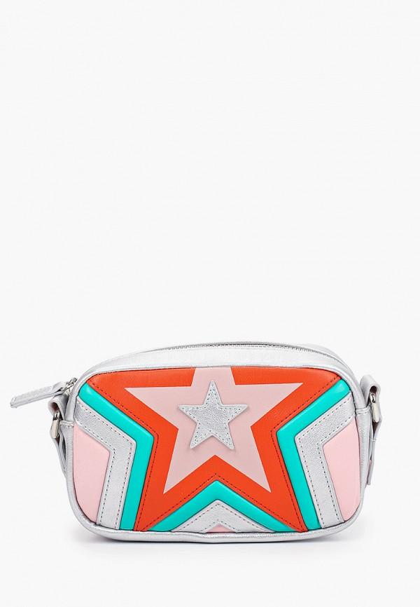 сумка stella mccartney для девочки, разноцветная
