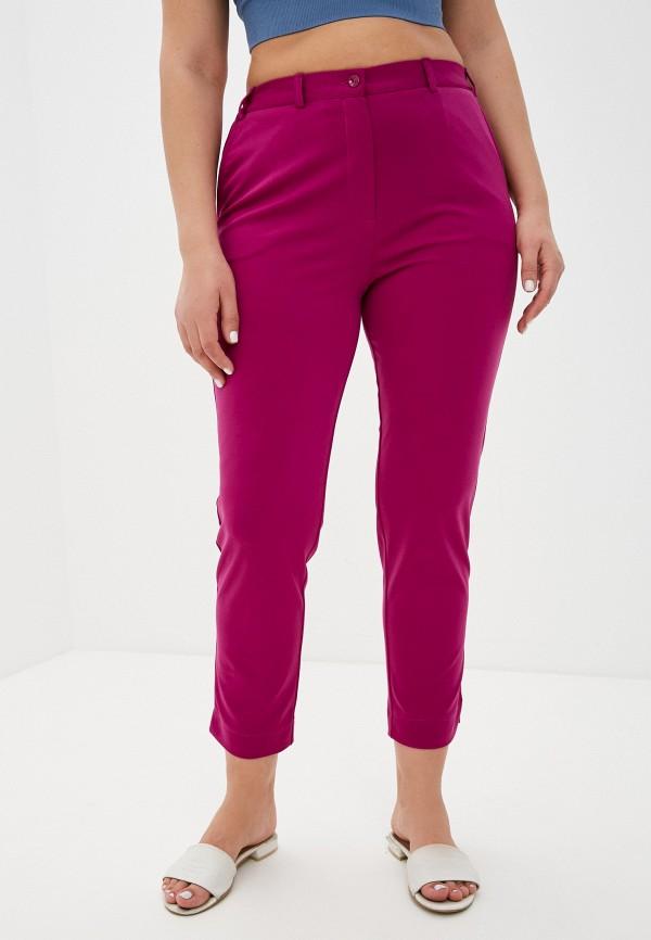 женские зауженные брюки svesta, фиолетовые